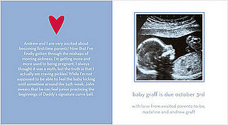 Tiny Prints Pregnancy Announcements