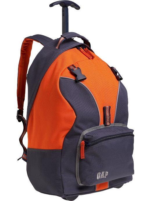 Gap Orange and Blue Backpack
