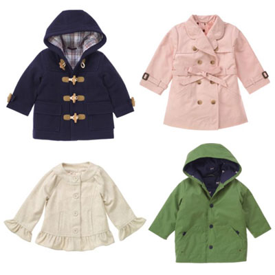 Fall Coats for Kids