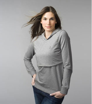 Hooded Nursing Top ($110)
