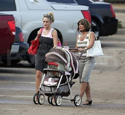 Jamie Lynn and Grandma Took a Stroll
