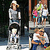 Celebrities and Their Babies Over the Weekend 2008-09-08 15:00:20