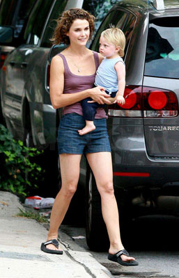 Keri and River Enjoy a Laid-Back Day in Brooklyn
