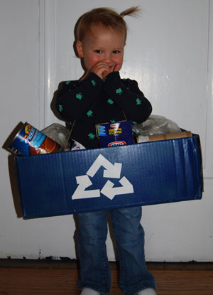 Recycle Box Costume
