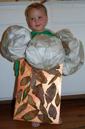 Making a Tree Hugger Costume