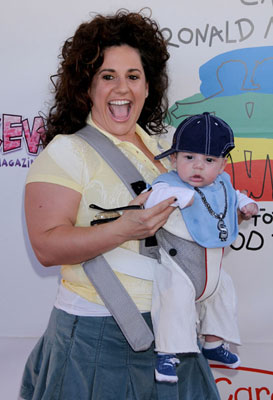 Melissa and Baby Zev Attended Camp Ronald McDonald's 16th Annual Family Halloween Carnival