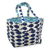 Blue Whale and Wave Tote ($97)