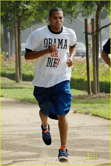 Chris Brown: Obama Or Die!