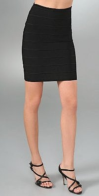 Alice   Olivia Wide Rib Skirt - shopbop.com