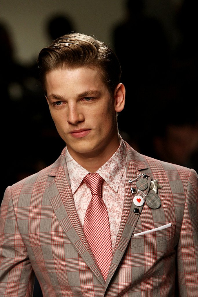 Trend Report: Pink For Spring 09 Menswear