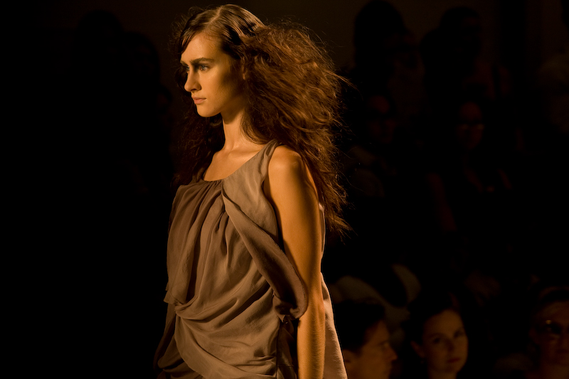 Tony Cohen Backstage & Runway