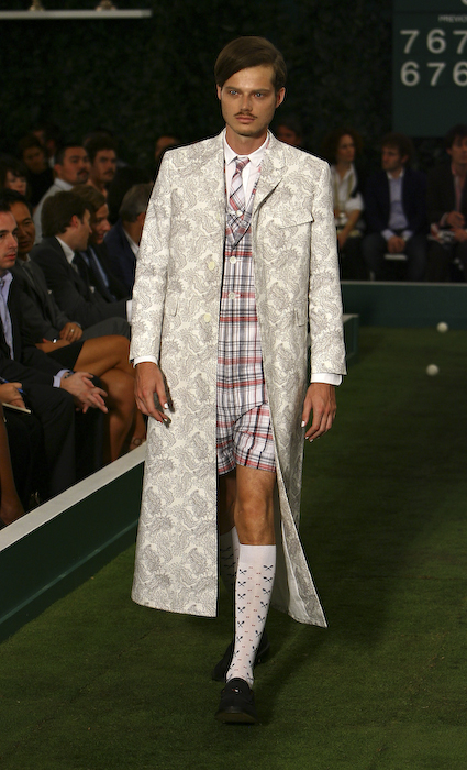 Thom Brown Spring 2009 Runway