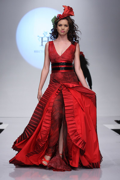 Mexico Fashion Week: Hector Terrones Spring 2009