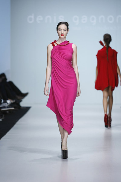 L'Oreal Toronto Fashion Week: Denis Gagnon Spring 2009