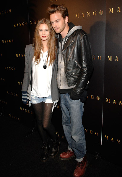 Model Behati Prinsloo and Jason Stockman