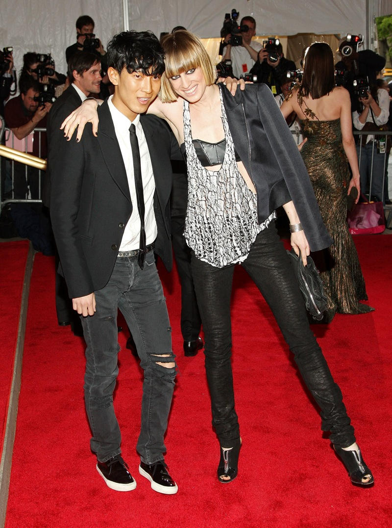May 2008: Costume Institute Gala with Natasha Vojnovic
