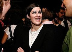Sept 2008, Laura at a Moet party
