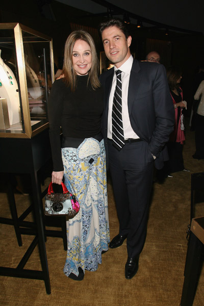Becca Cason Thrash and President and CEO of Cartier North America Frederic de Narp