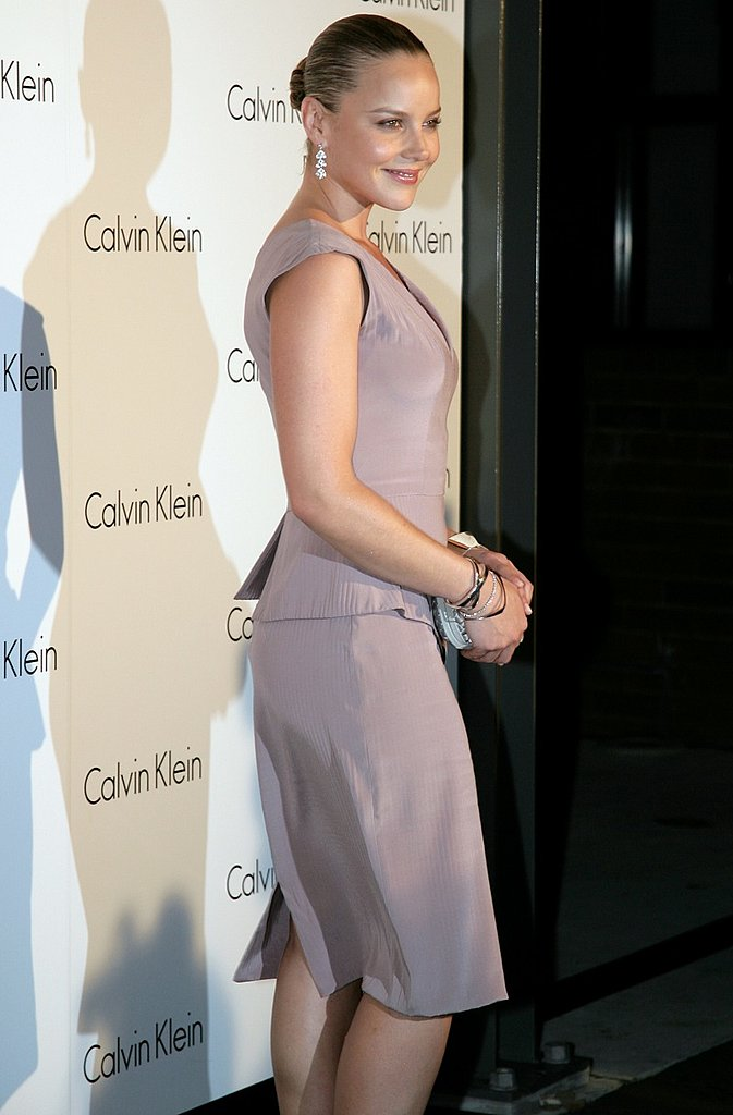 Actress and hostess Abbie Cornish