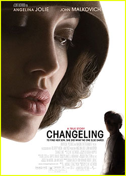 Angelina Jolie - 'Changeling' Poster - FIRST LOOK