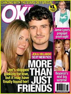 Jennifer Aniston & Orlando Bloom: More Than Friends?