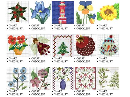 Learning to Cross Stitch #5