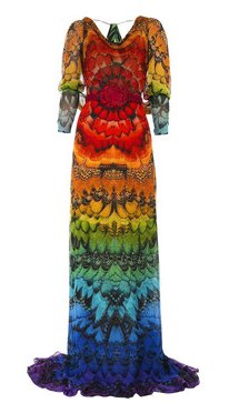 Love It Or Hate It: Alexander McQueen Butterfly Print Gown
