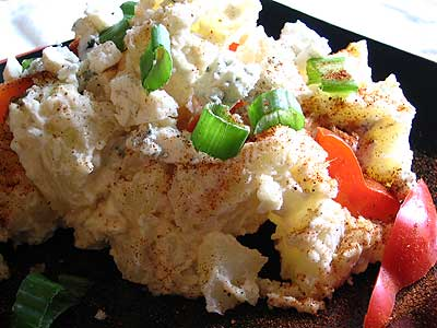True-Blue Potato Salad