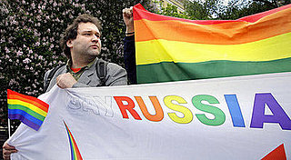 Gay Pride Celebration Defies Official Ban in Moscow