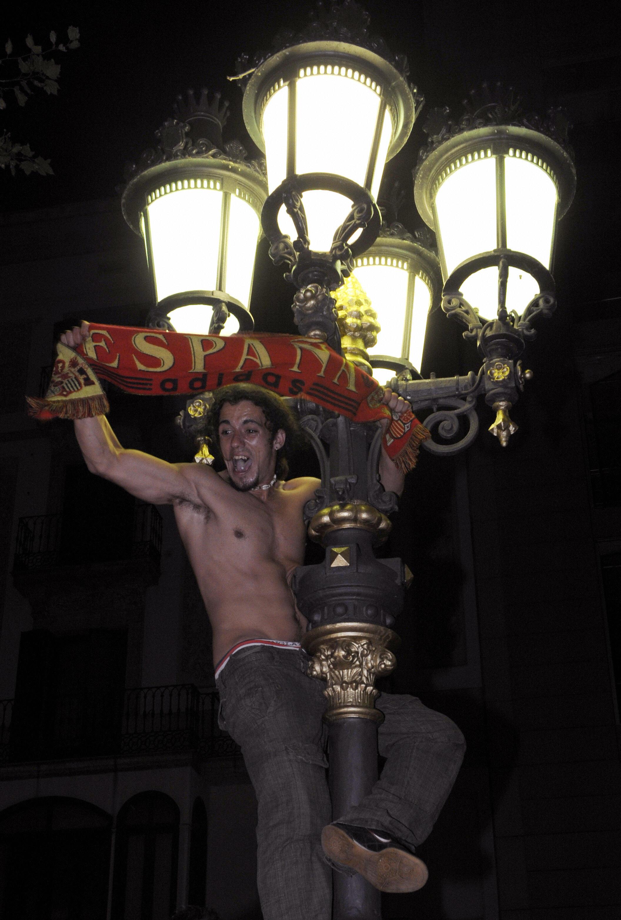 Celebrating in Barcelona!