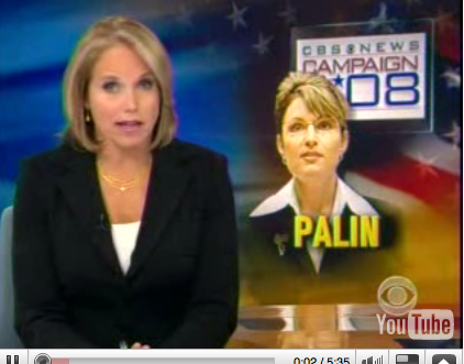 Briefing Book! Sarah Palin Chats With Katie Couric