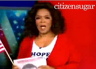 Oprah Unleashes Her Support For Barack Obama on Her Show