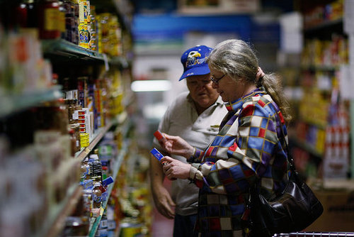 More Hunger to Stamp Out? Record Number Use Food Stamps