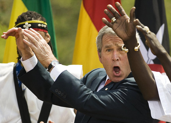 Biggest Headlines of 2008: Bush&#039;s Long Goodbye