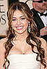 Miley Cyrus at the 2009 Golden Globes
