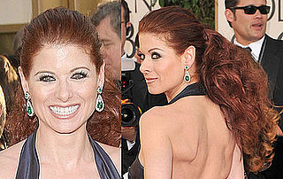Debra Messing at the 2009 Golden Globe Awards