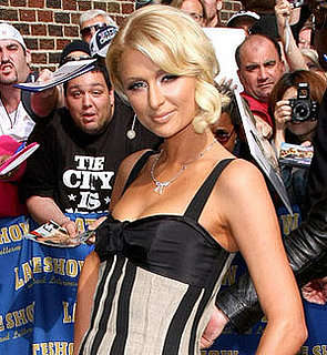 Paris Hilton on Letterman