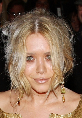 Mary-Kate Olsen at the Costume Institute Gala
