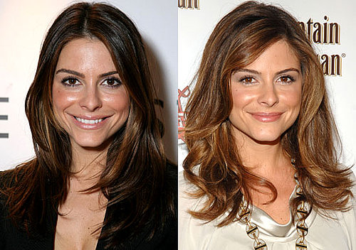Maria Menounos Hair Color