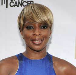 Mary J. Blige at Fashion Rocks 2008