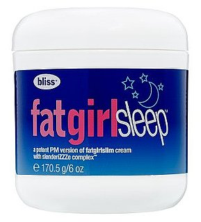 Tuesday Giveaway! Bliss Fat Girl Sleep