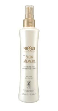 Nexxus Sleek Memory Straightening Smoothing Spray Review