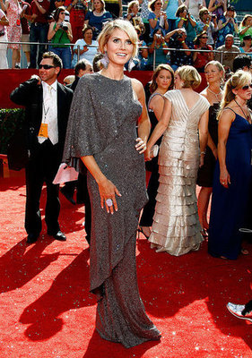 Heidi Klum at the 2008 Primetime Emmys