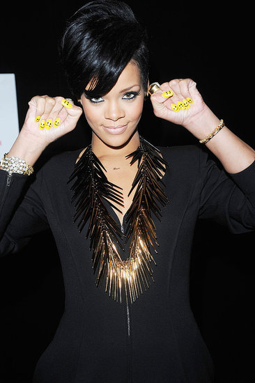 Rihanna Hair Photo Gallery
