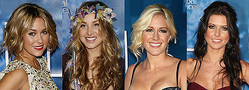 The Cast of The Hills and Hairstyles From the Season Four Finale