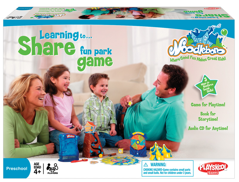 Learning to Share Fun Park Game ($25)