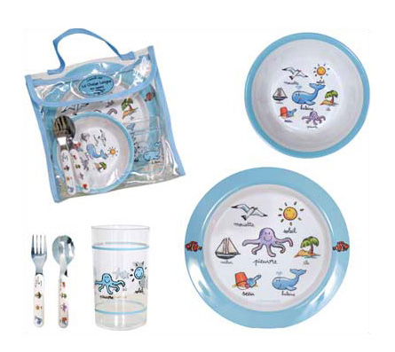 Baby Cie Ocean Lunch Set
