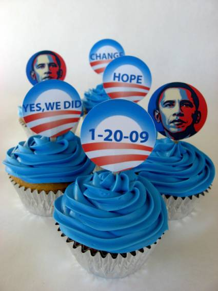 Print Free Inauguration Cupcake Toppers