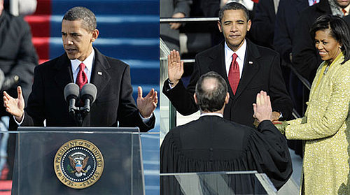 Barack Obama Sworn in as President!