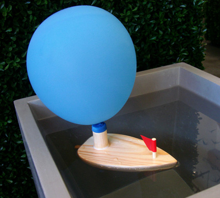 Toy Box: Vilac Balloon Powered Boat
